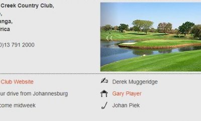 Popular Golf Courses in South Africa