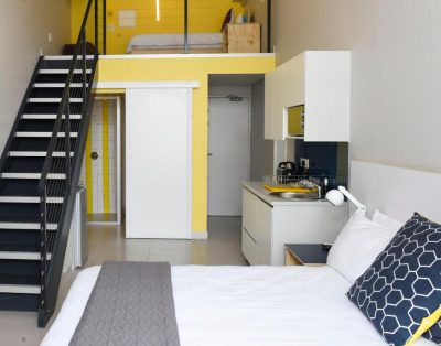 3-Bed Standard Studio – MOJO Hotel Sea Point